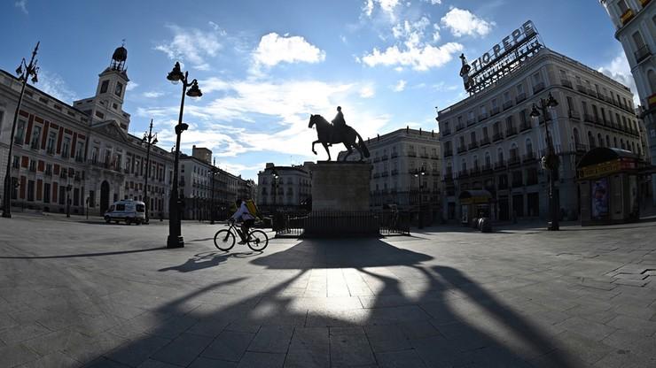 619 nowych zgonów na Covid-19 w Hiszpanii. Najwięcej - w Madrycie