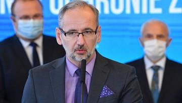 Szczepionka na Covid-19. Minister zdrowia mówi o terminie