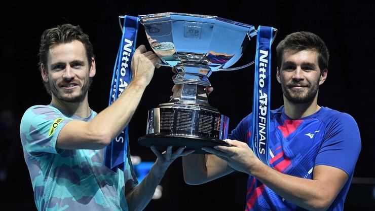 ATP Finals: Triumf Koolhofa i Mektica w deblu