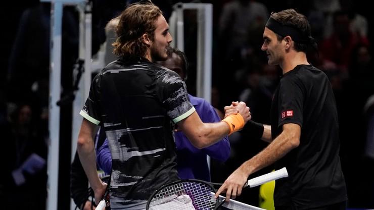 ATP Finals: Tsitsipas wyeliminował Federera