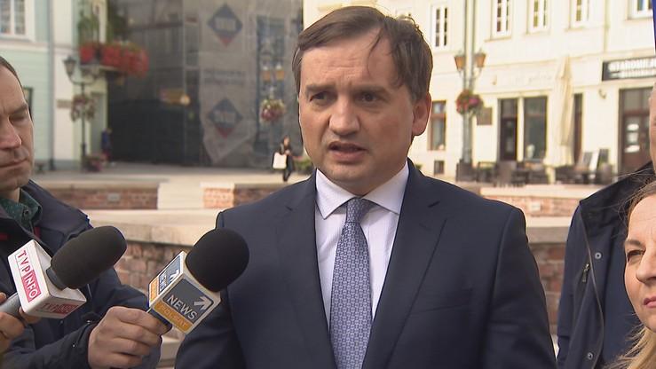 """""""Ziobro chce mieć wpływ na wybór I prezesa Sądu Najwyższego"""""""
