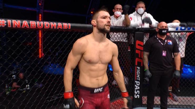 UFC: Mateusz Gamrot - Guram Kutateladze. Skrót walki (WIDEO)