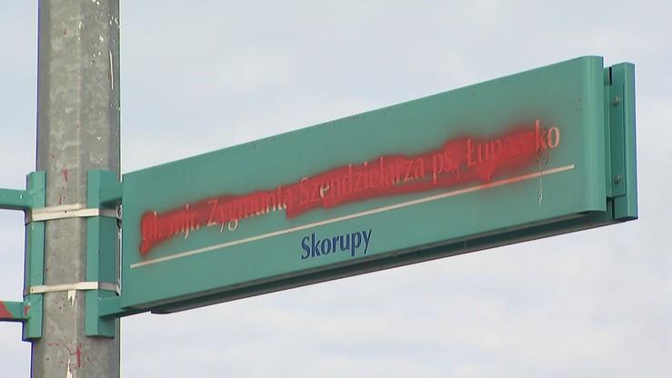 """Zmienili nazwę ulicy w Żyrardowie. Kombatanci chcą ukarania osób, które """"okryły hańbą całą PO"""""""