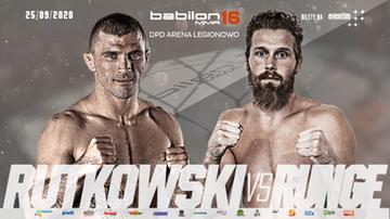 Babilon MMA 16. Rutkowski: Najpierw Runge w lekkiej, potem obrona obu pasów w wadze piórkowej