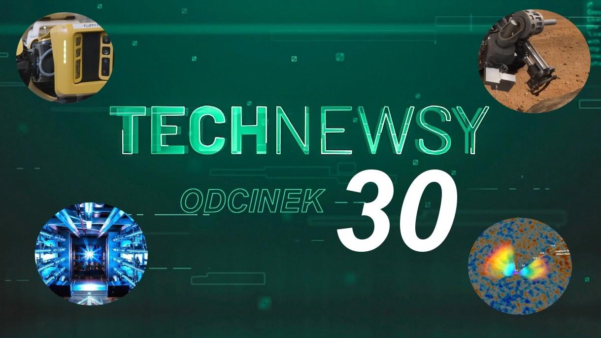 Zobacz TechNewsy odcinek 30 - filmowy przegląd najciekawszych wiadomości