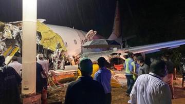Katastrofa samolotu w Indiach. Są zabici i ranni