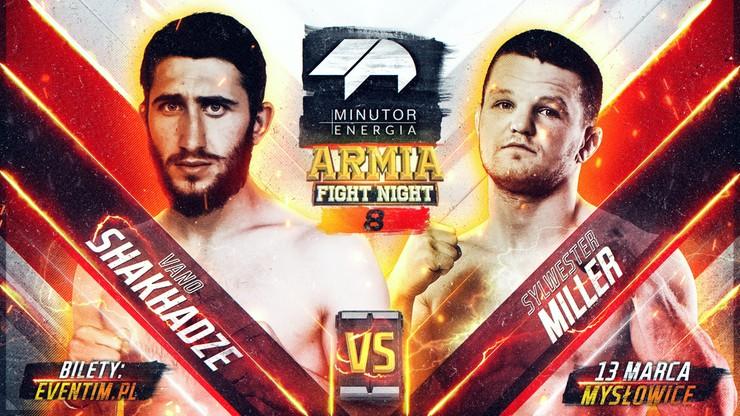 Minutor Energia Armia Fight Night 8: Miller z nowym rywalem