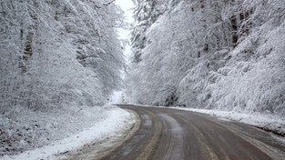 03.12.2019 11:00 Obudzili się pod białą pierzynką. Pierwszy śnieg w Polsce jest już widoczny z satelity