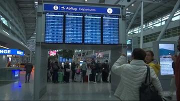 Strajk w spółkach Lufthansy. Ponad 100 lotów odwołanych
