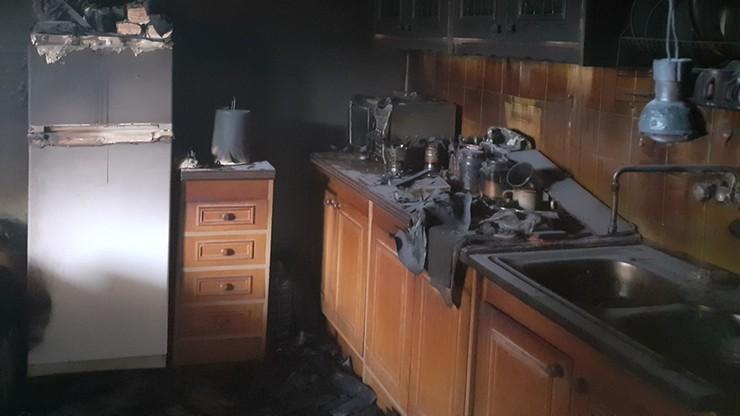 Rudnik k. Myślenic: niepełnosprawni mężczyźni zginęli w pożarze. Możliwe zaprószenie ognia