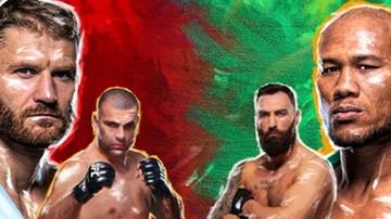 2019-11-11 UFC w Brazylii: Błachowicz - Jacare Souza. Karta walk