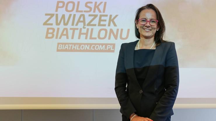 Szefowa PZBiath zamienia federację polską na światową