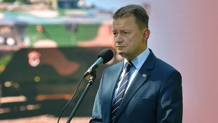 """""""Ważny moment dla Polski i NATO"""". Błaszczak o ratyfikacji umowy z USA"""