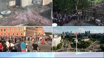 """Godzina """"W"""". Polska oddała hołd Powstańcom Warszawskim [WIDEO]"""