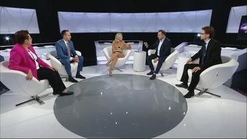 """""""Jestem z dumny z polskich policjantów"""". Wymiana zdań w programie """"Debata Tygodnia"""""""