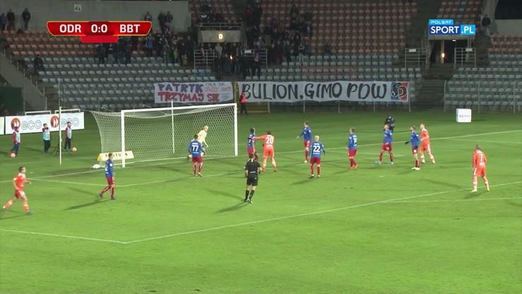 Odra Opole - Bruk-Bet Termalica Nieciecza 2:0. Skrót meczu