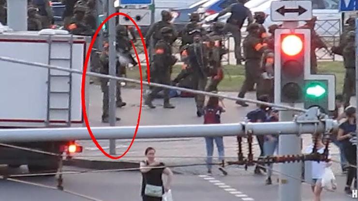 Białoruś: Nasza Niwa opublikowała nagranie z postrzelenia swojej dziennikarki