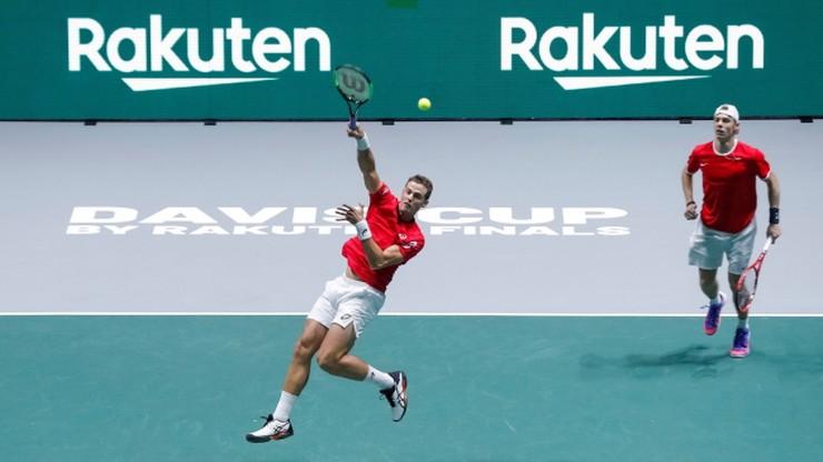 Puchar Davisa: Kanadyjczycy pokonali Włochów