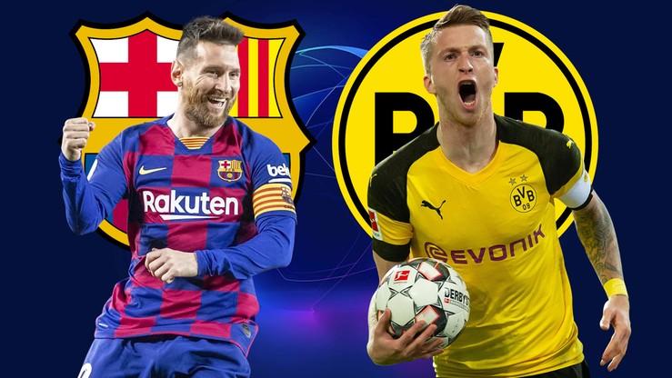 FC Barcelona - Borussia Dortmund. Relacja na żywo