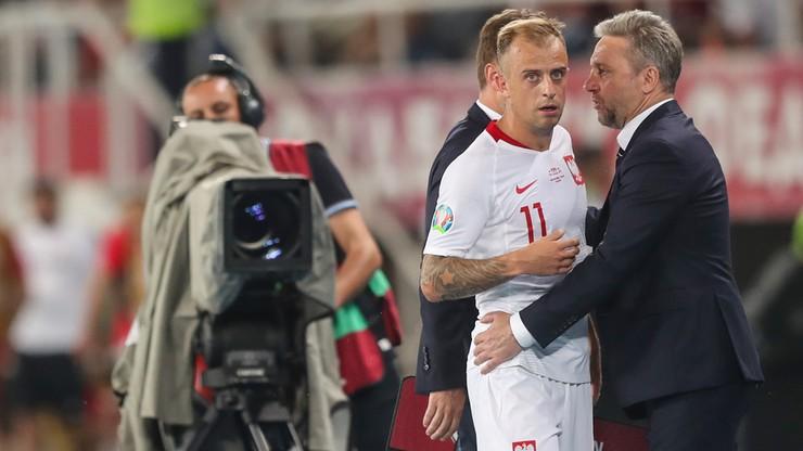 """Grosicki broni Brzęczka. """"Nie wyobrażam sobie..."""""""