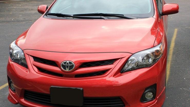 Toyota wezwie do serwisów 3,4 mln aut na całym świecie