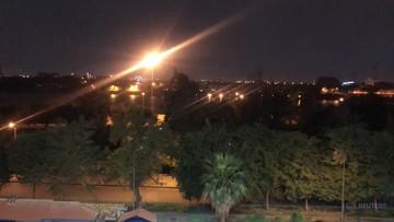 2020-01-20 Trzy rakiety spadły na Zieloną Strefę w Bagdadzie