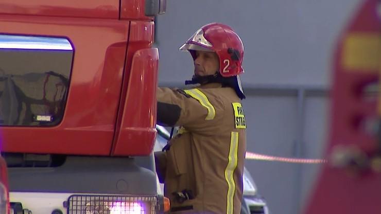 Trzy osoby w szpitalu i 20 ewakuowanych po pożarze w Zabrzu
