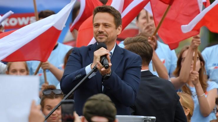 Trzaskowski: nie ma mowy, aby obrażać się na wynik wyborów