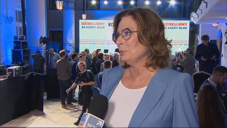 """Kidawa-Błońska chce startować w wyborach prezydenckich. """"Jestem gotowa, aby pokonać Dudę"""""""