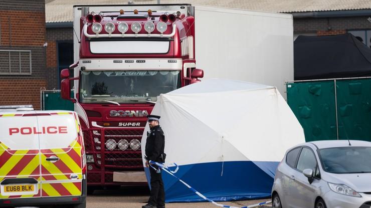 W ciężarówce znaleziono 39 ciał. Kierowca został aresztowany
