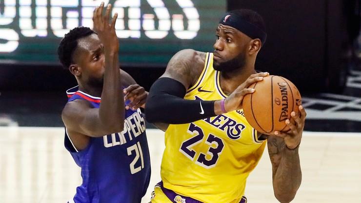 NBA: Mistrzowie zaczęli od zwycięstwa. Derby Los Angeles dla Clippers