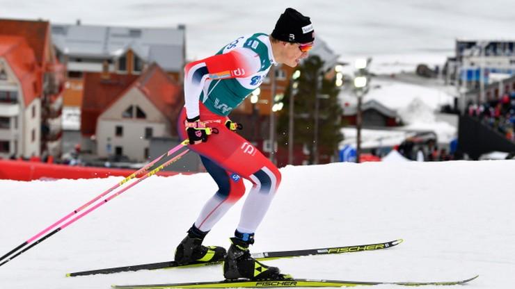 PŚ w biegach: Falla i Klaebo wygrali w Trondheim, życiówka Burego