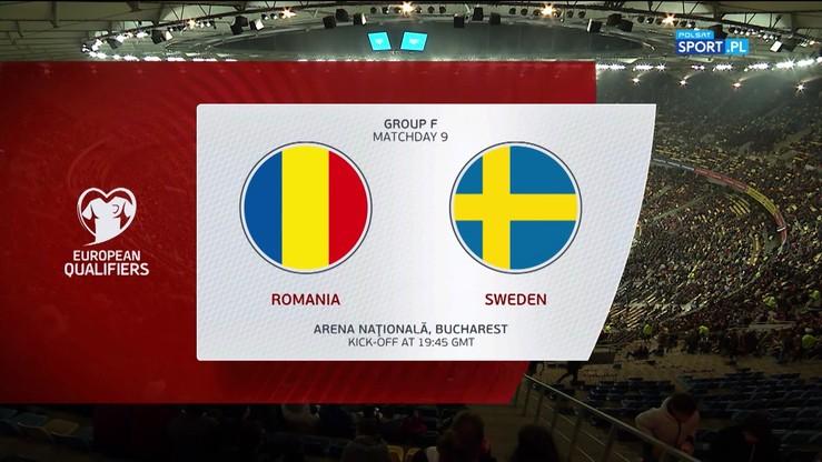 Rumunia - Szwecja 0:2. Skrót meczu