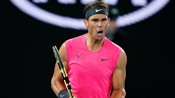 Australian Open: Awans Nadala do trzeciej rundy. Hiszpan wygrał w trzech setach