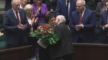 """Elżbieta Witek marszałkiem Sejmu. """"To wyróżnienie i zobowiązanie"""""""