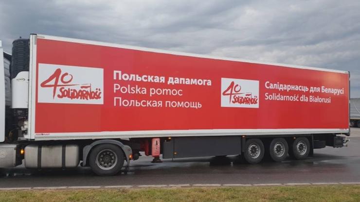 Ciężarówka z pomocą humanitarną nie została wpuszczona na Białoruś. Kierowca aresztowany