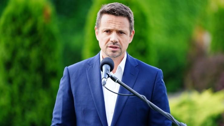 """Trzaskowski uderzając w Dudę, pochwalił PiS. """"Mam odwagę to powiedzieć"""""""