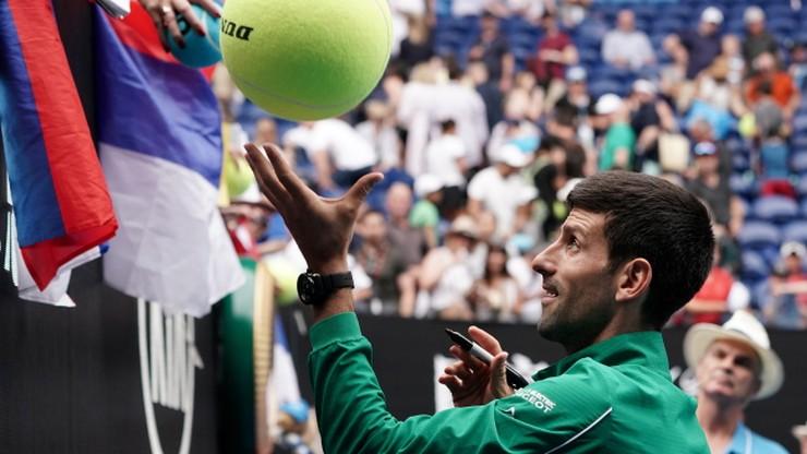 Australian Open: Broniący tytułu Djokovic wygrał drugi mecz