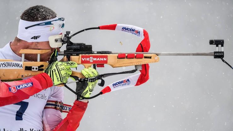 PŚ w biathlonie: Norwegowie najlepsi w sztafecie w Oestersund. Polacy na 16. miejscu
