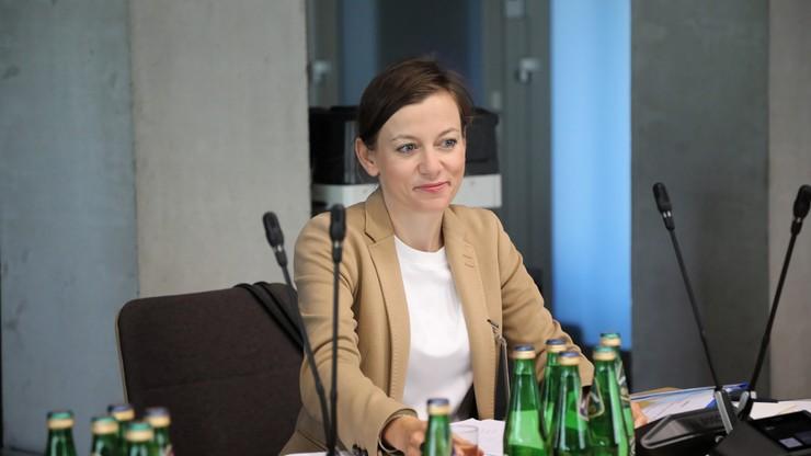 Zuzanna Rudzińska-Bluszcz, kandydatka na RPO bez poparcia Zjednoczonej Prawicy