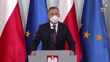 """""""Firmy wyprodukują miliony maseczek"""". Prezydent o akcji """"Polskie szwalnie"""""""