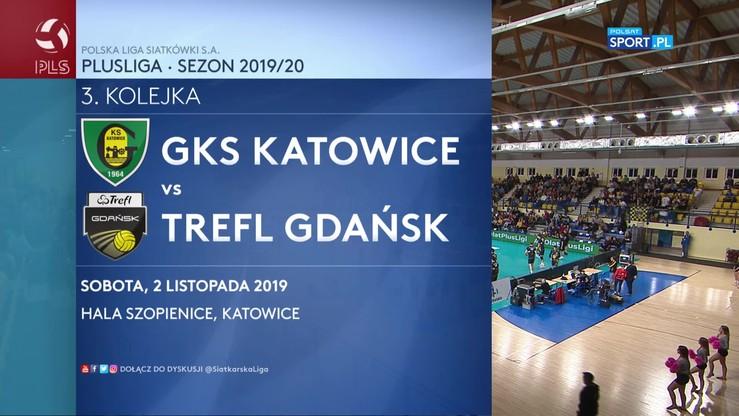 GKS Katowice - Trefl Gdańsk 2:3. Skrót meczu