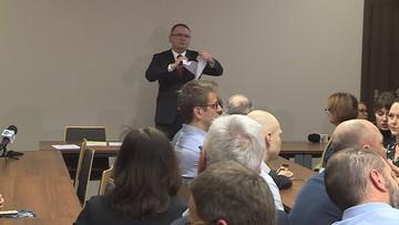 Sędziowie wezwali prezesa sądu, by nie utrudniał Juszczyszynowi pracy. Nawacki podarł apel