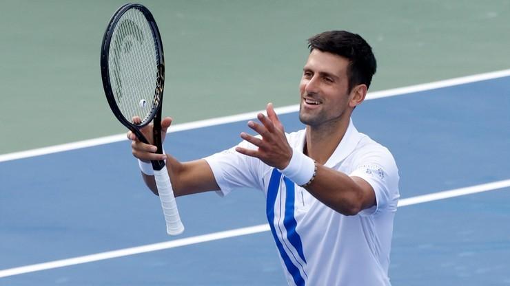 Turniej ATP w Rzymie: Wygrana Novaka Djokovica w pierwszym meczu po dyskwalifikacji