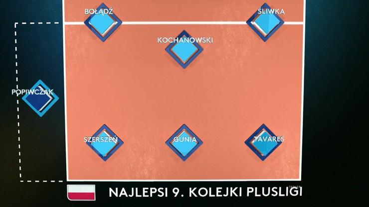 Drużyna 9. kolejki PlusLigi