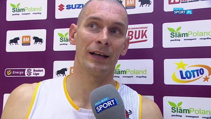 Dylewicz: Przegraliśmy bardzo ważny dla nas mecz