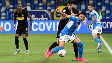 Napoli zremisowało z Interem. Polacy w finale Pucharu Włoch