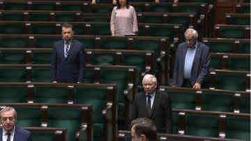 Posłowie uczcili minutą ciszy pamięć Wiktora Batera