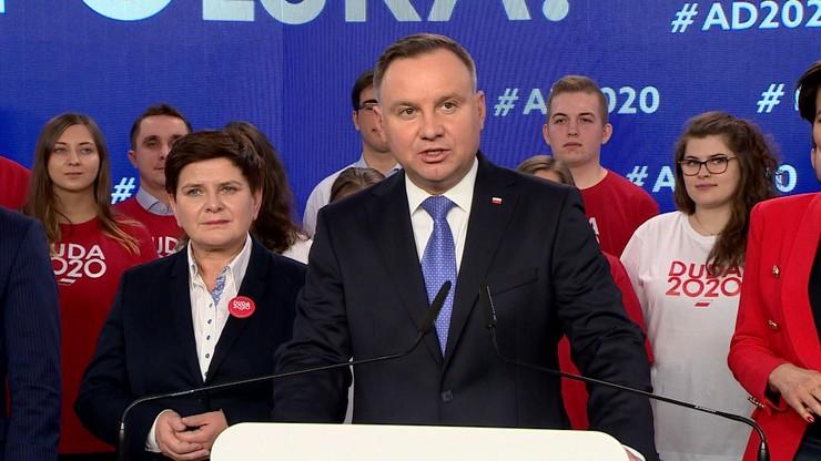 """""""Nie ma miejsca na brak kultury w polityce"""". Prezydent o wydarzeniach w Pucku i geście Lichockiej"""