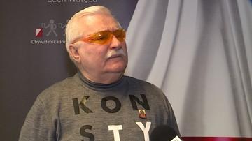 Wałęsa pyta, czy K. Morawiecki współpracował z Kiszczakiem